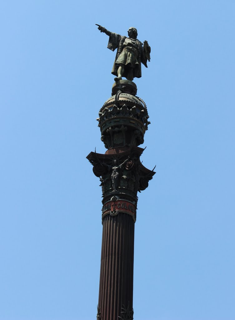 Statue of Christopher Columbus - Barcelona, Spain