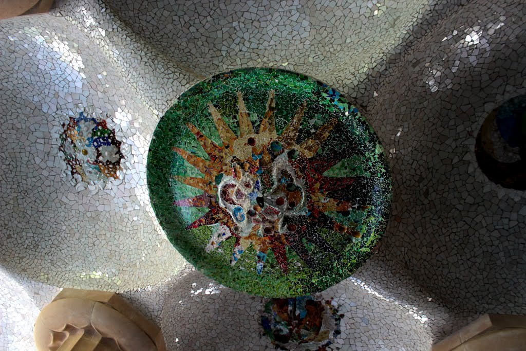 Design done by Gaudi in Park Guell