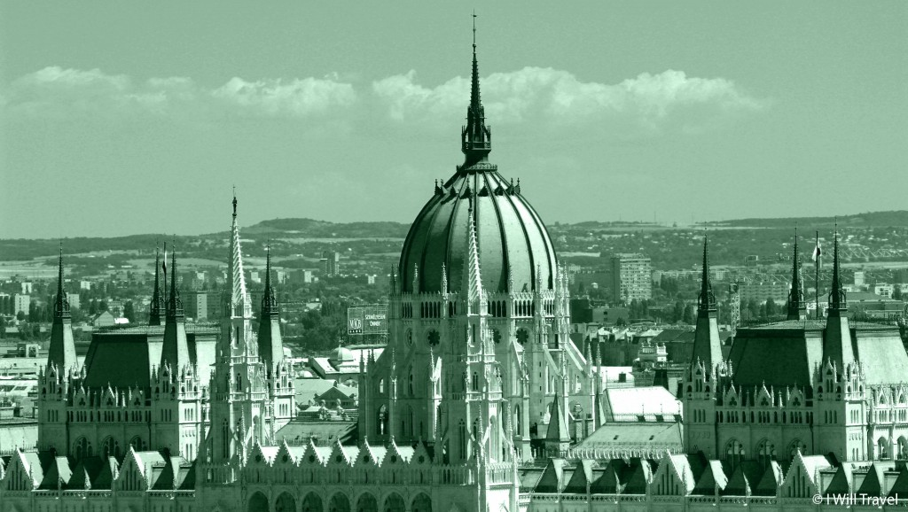 The buildings and architecture in Budapest