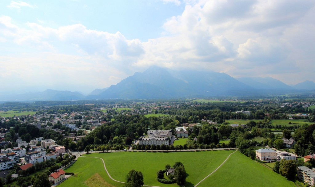 View of Salzburg from Hohensalzburg Fortress