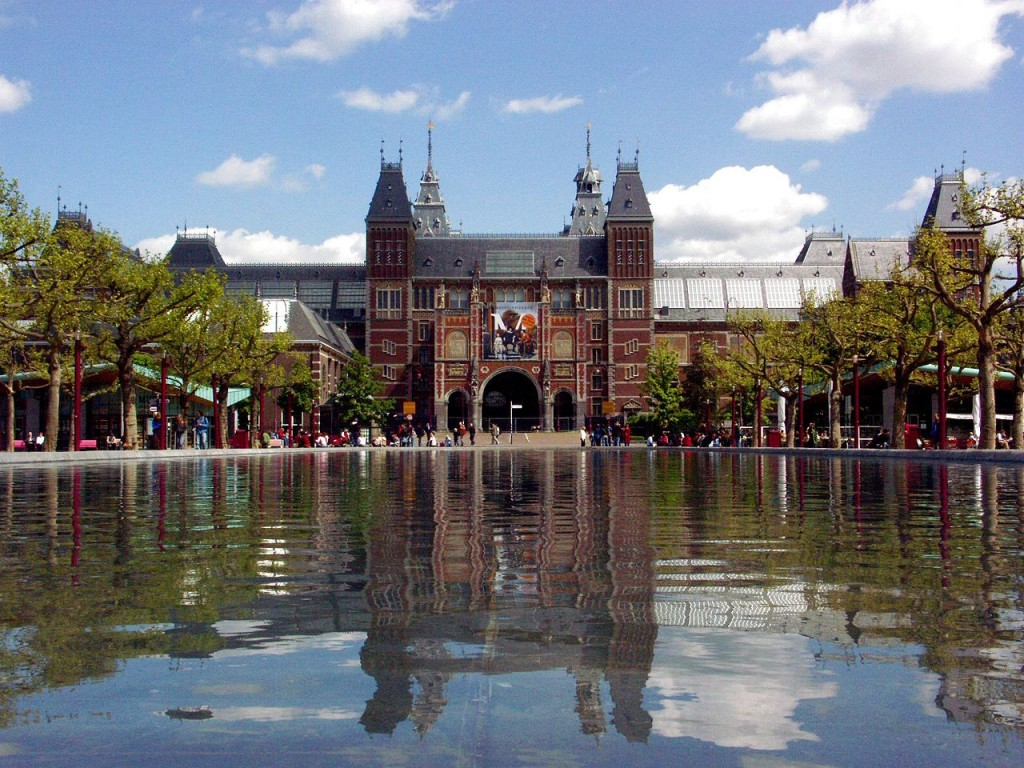 The Rijksmuseum houses The Night Watch.