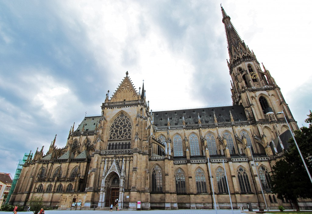 Stop in Linz if you're traveling from Salzburg to Prague and head over to The New Cathedral