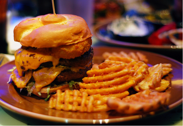 Food in Orlando can be as healthy as Burgers and Fries