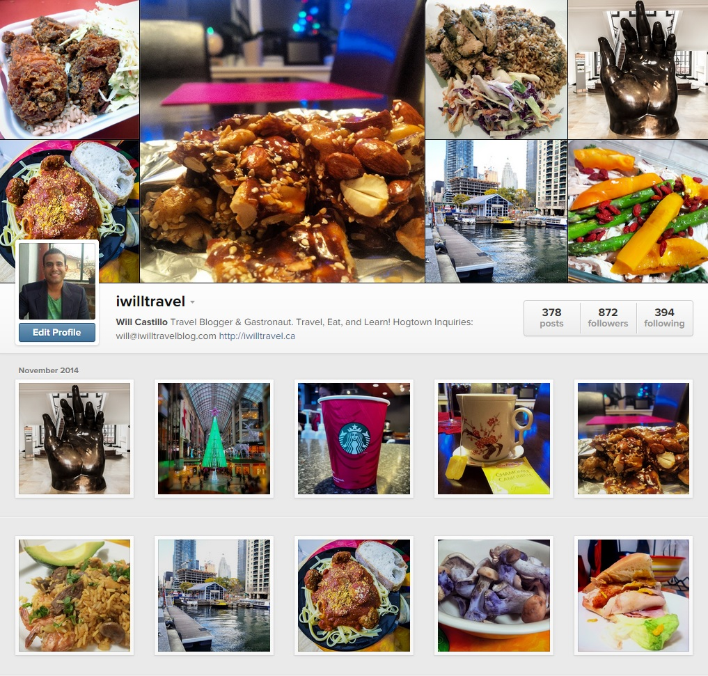 I Will Travel is also a travel bloggers on instagram