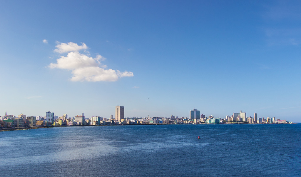 Another view of the Havana skyline from Castillo del Morro.
