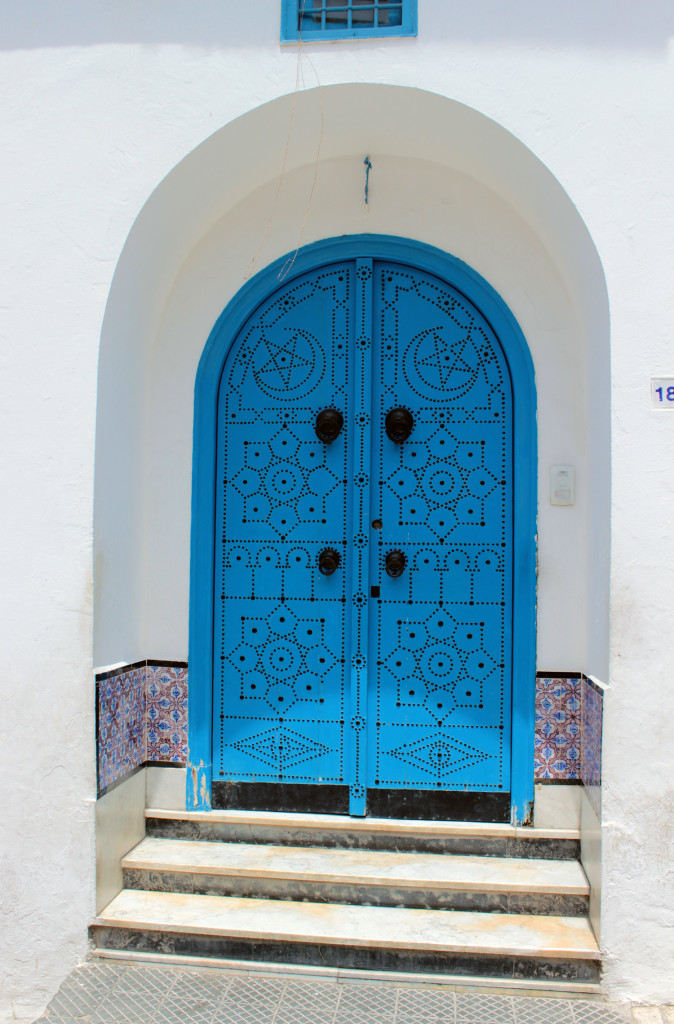 Tunisia: The blue and white village of Sidi Bou Said