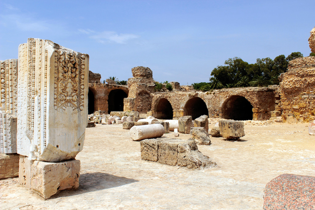 Ruins of Carthage, Tunisia